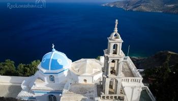 nejvýznamější kostel na ostrově - Panagia Portaitissa
