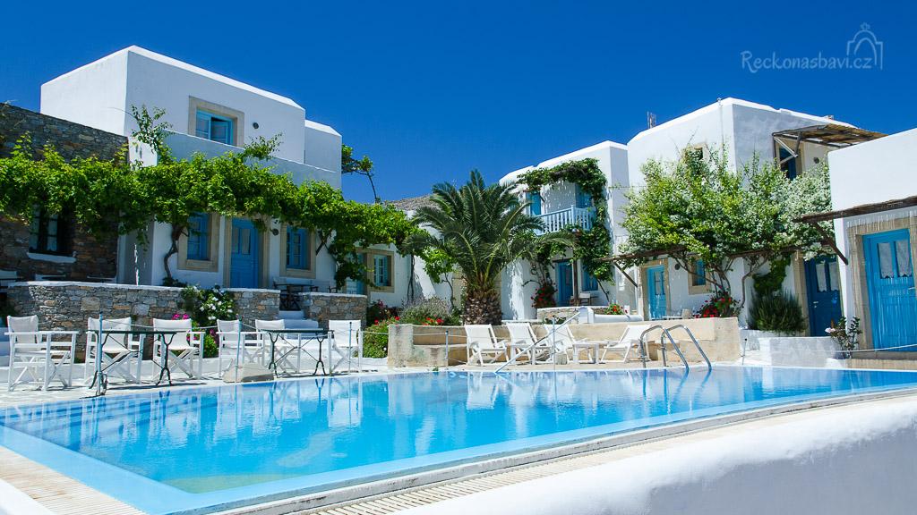 Ampelos Resort - ubytování, které si brzy zaslouží samostatný článek :)