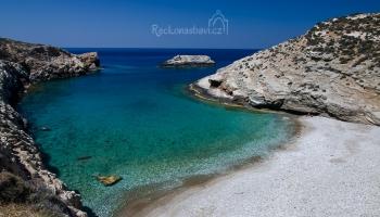 Livadaki beach - ráj šnorchlování na ostrově Folegandros