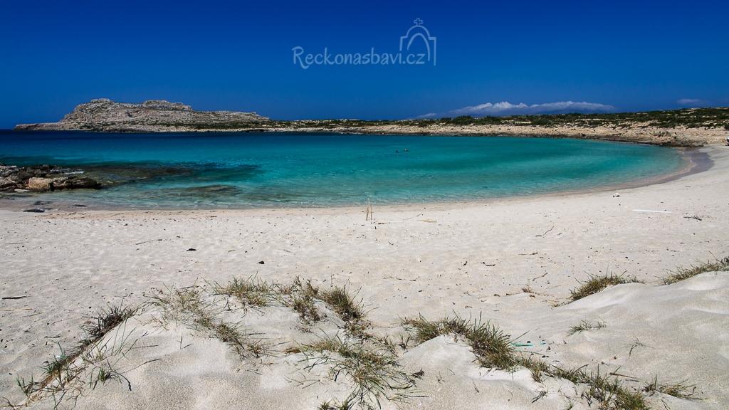 pláž Diakofti na jihu ostrova nabízí naprostou exotiku