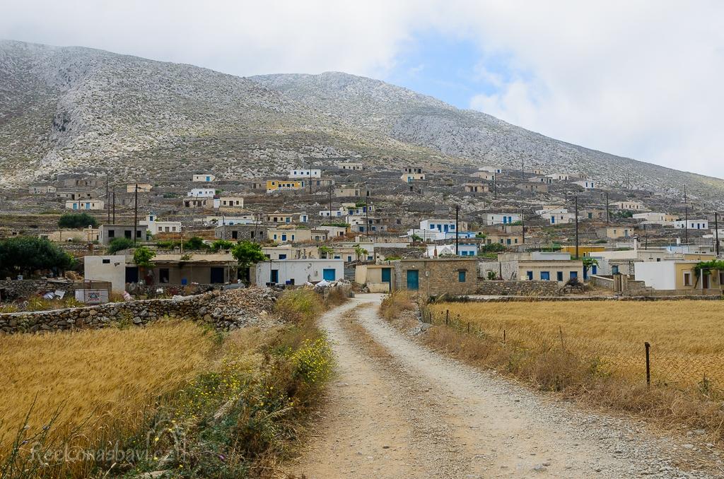 Avlona - drsný venkovský život na severu Karpathosu