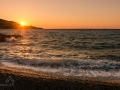 západ slunce v Kokkari