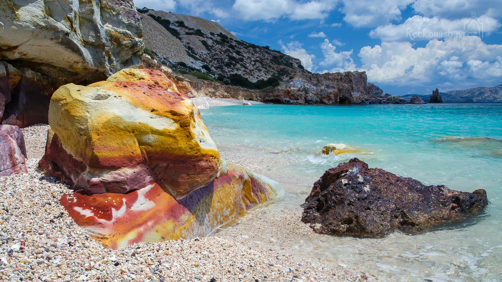 ... takto barevné kameny jen tak někde nenajdete...