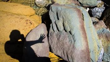 ... polední hra barev a stínů ...