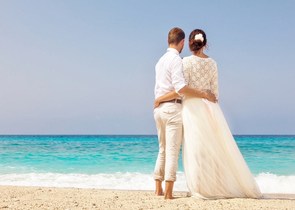 Svatba u moře - řecký ostrov Lefkáda
