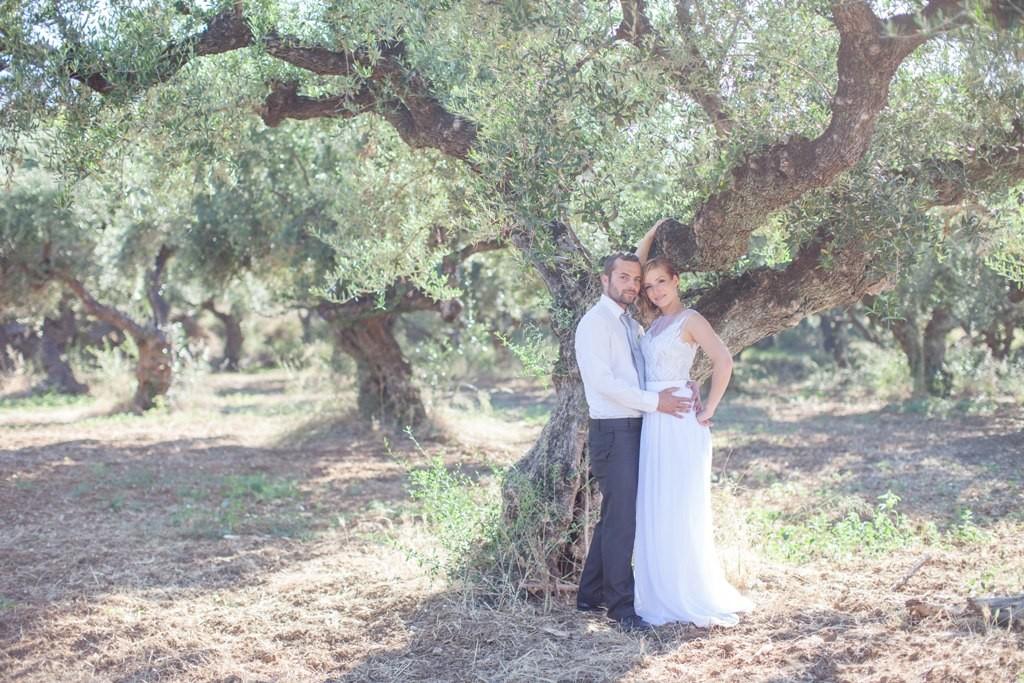 Svatba v olivovém háji