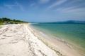 naše první zastávka na koupání na pláži Salaora (παραλία της Σαλαώρας)