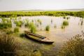 brakické laguny v zálivu Amvrakikos