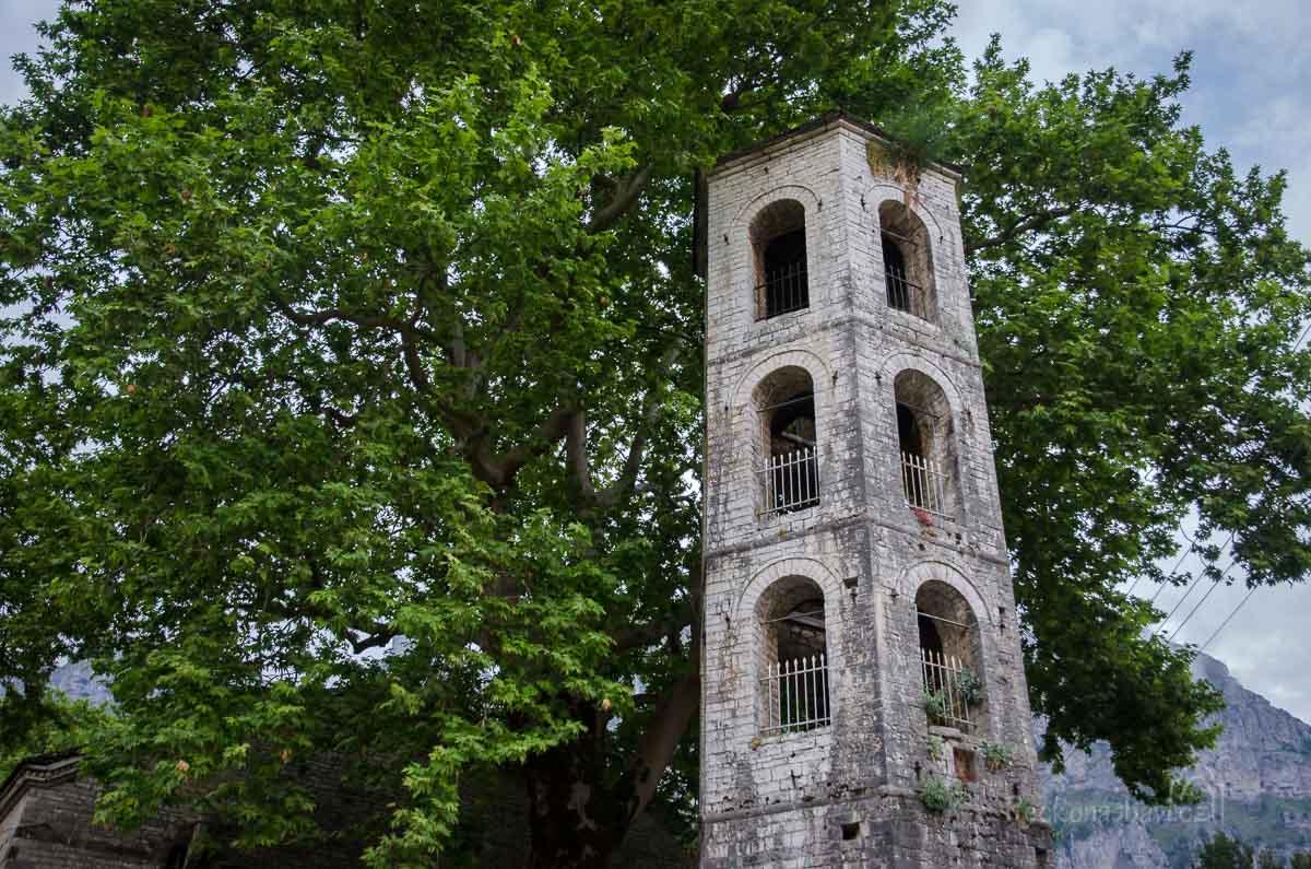zvonice v Meghalo Papingu