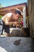 Antalki pramen se svým žabákem...pusu nedostal