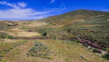 výhled do krajiny v horní části kaňonu Vatses