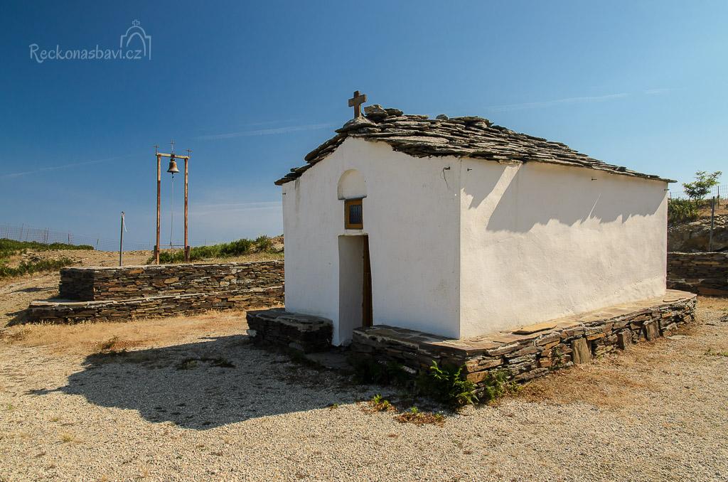 dojeli jsme až ke kapli Aghios Efstathios