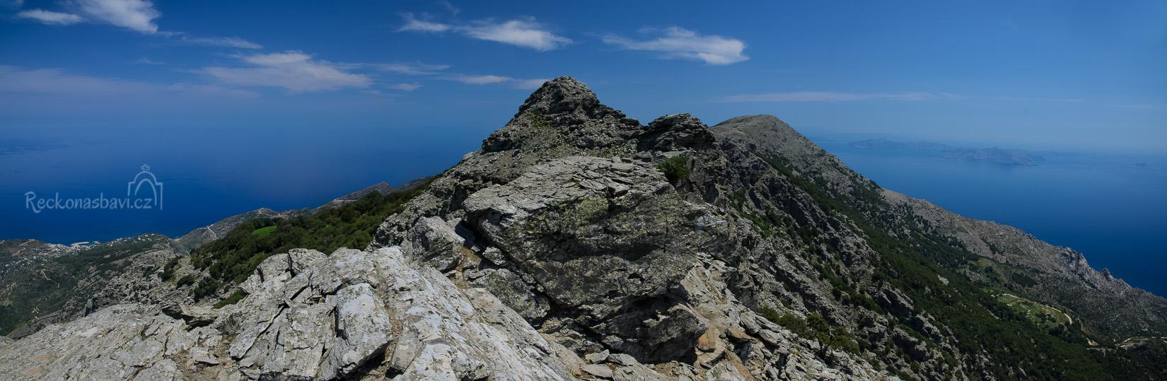 procházka se mění na Alpskou túru