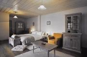jeden z menších pokojů v ubytování v Avragonio