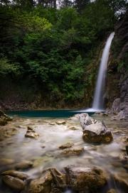 vodopády u Iliochori (Zagori)