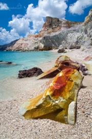 Kastanas beach - ostrov Milos