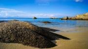 Kavourotripes (Orange beach) na Chalkidiki (druhý prst Sithonia)