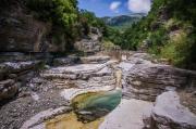 skalní bazénky Ovires - Papingo (Zagori)