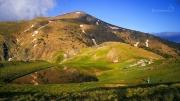 druhá nejvyšší hora Řecka - Smolikas (s jezerem Drakolimni)