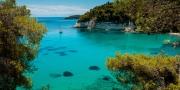 Zátoka Milia vás donutí levitovat mezi nebeskou modří a tyrkysovým mořem na ostrově Alonnisos