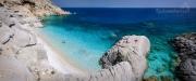ostrov Ikaria a slavná Seychelles beach