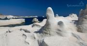 Měsíční pláž Sarakiniko na ostrově Milos