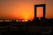 Portara - mramorové dveře na ostrově Naxos