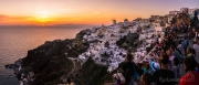 Ostrov Santorini - Řecko jako z katalogu