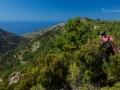 při cestě zpět do Christos Raches procházíme asi 500 m buší ... Byli jsme pěkně odření :D