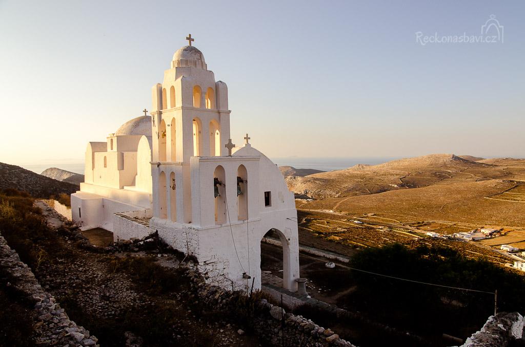 Aghia Panaghia - nejvýznamnější historická památka Folegandrosu
