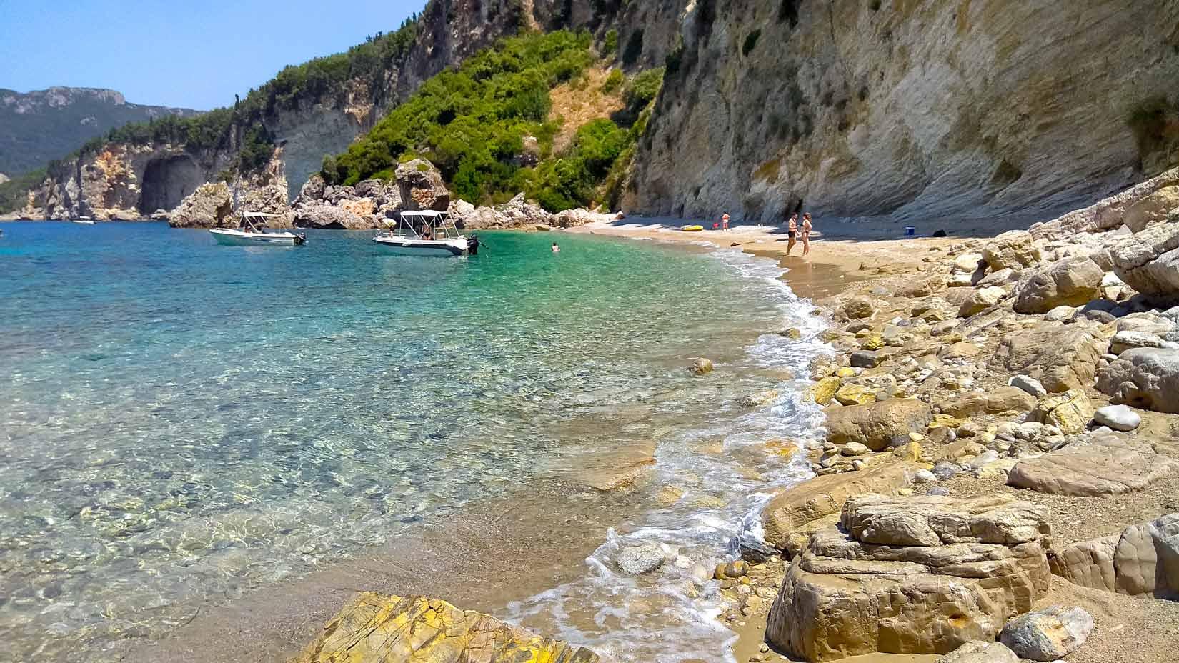 Kolias beach