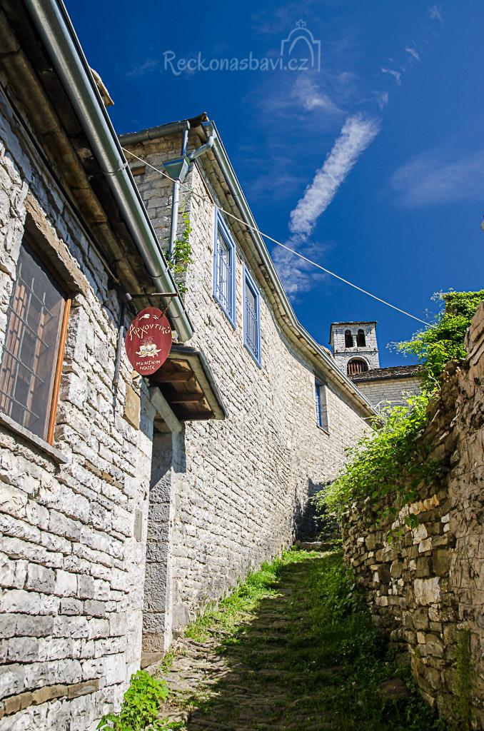 Panský dům Archontiko, který ukrývá až pohádkové bydlení v srdci kraje Zagorochoria...
