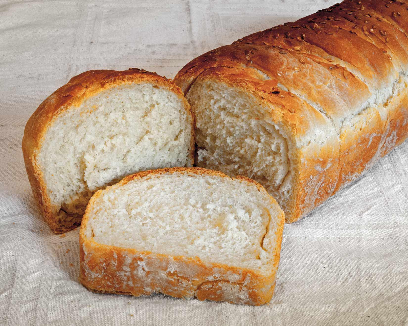 Díky olivovému oleji je váš domácí chléb vláčný a nadýchaný