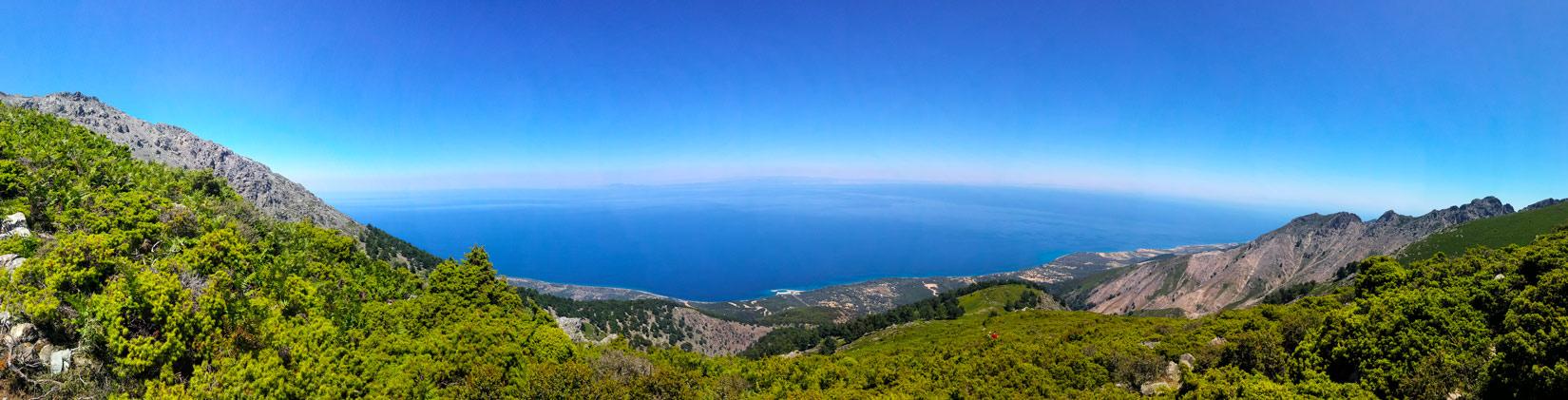 Skvostný výhled na Thermu a Thrácké moře