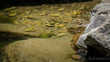 čistá voda v Chalares kaňonu