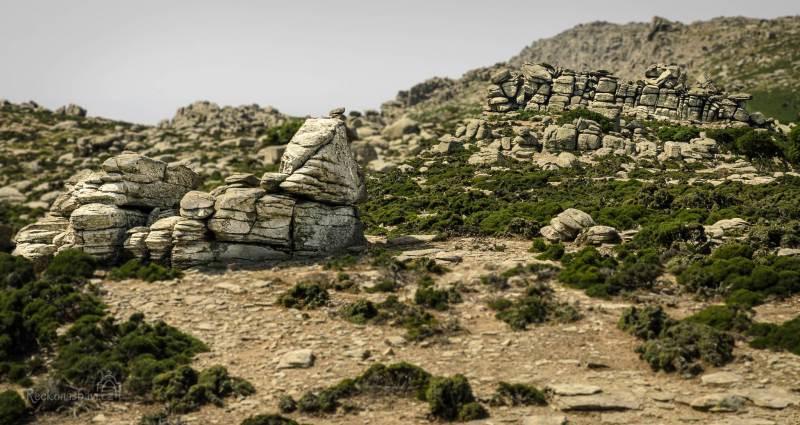 Erifi plateau - náhorní plošina plná neuvěřitelných balvanů