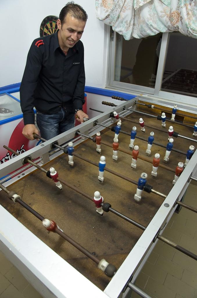 mezinárodní utkání Česko - Řecko v Minasově taverně DIONYSOS FIESTA v Menethes