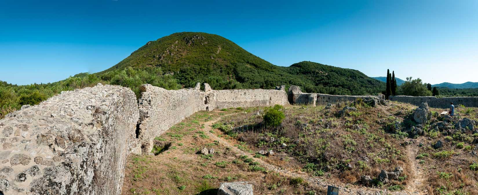 Oktagonála hradeb pevnosti Gardiky