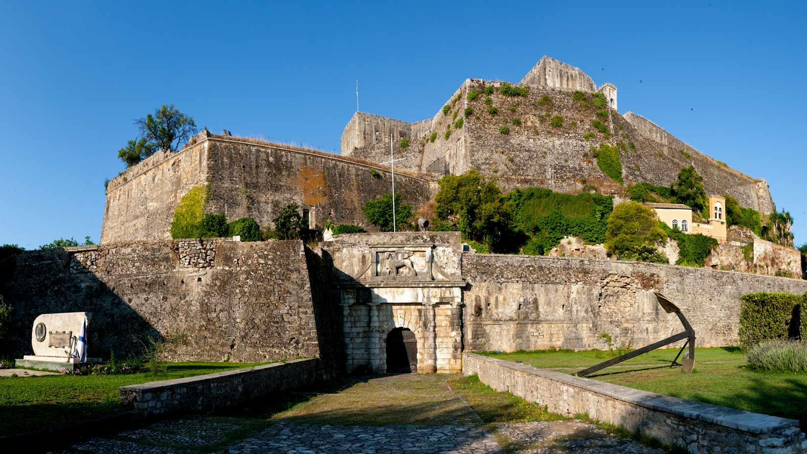 Nová pevnost k Kerkyře