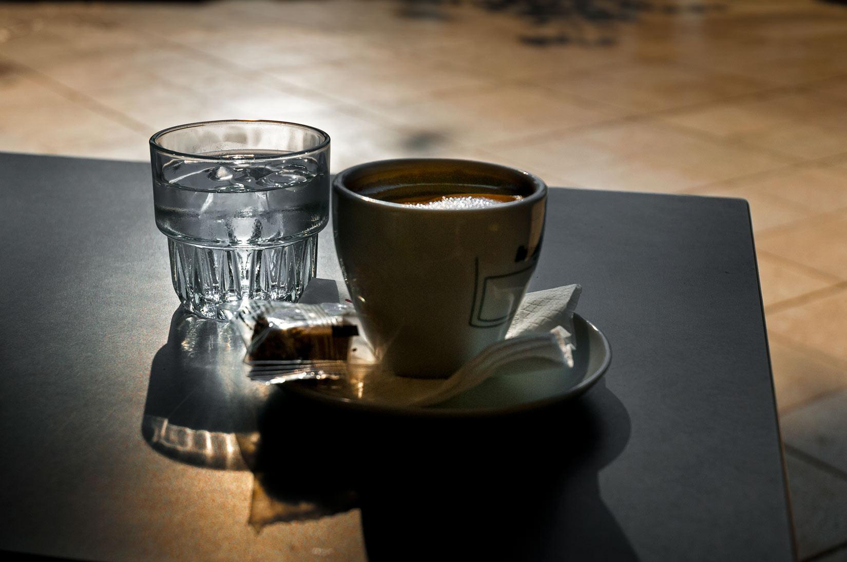 Ranní kávička v Listonu
