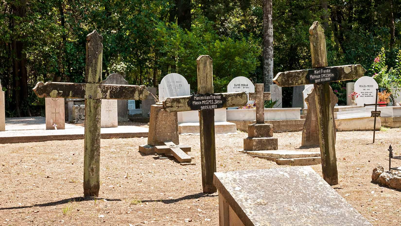 Britský hřbitov - německá sekce