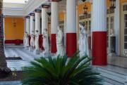 Achilleon - východní část zámečku císařovny Sisi