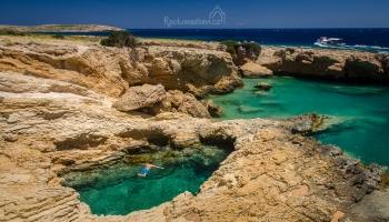 přírodní bazén Pisina (Devil's Eye)