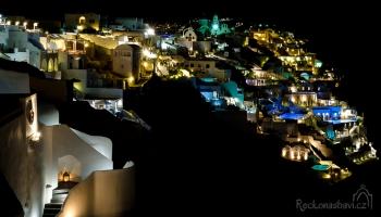 Santorini- luxusní hotely v Oia
