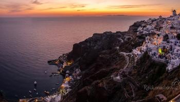 Santorini - pohádkový západ slunce v Oia