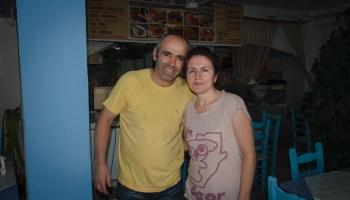 majitelé taverny To Steki - Roberto a Vera, ochutnejte cokoliv, nebudete litovat