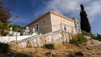 kostel v Athani - v roce 2015 jej zničilo zemětřesení :(