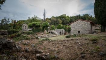 tak sem jsme prosím zabloudili, zklamání se ale nekonalo - Agios Asomaton
