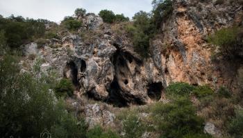 jeskyně Karoucha u Sivrosu - strašidla v ní vidí jen ti vnímavější, uááá!!!
