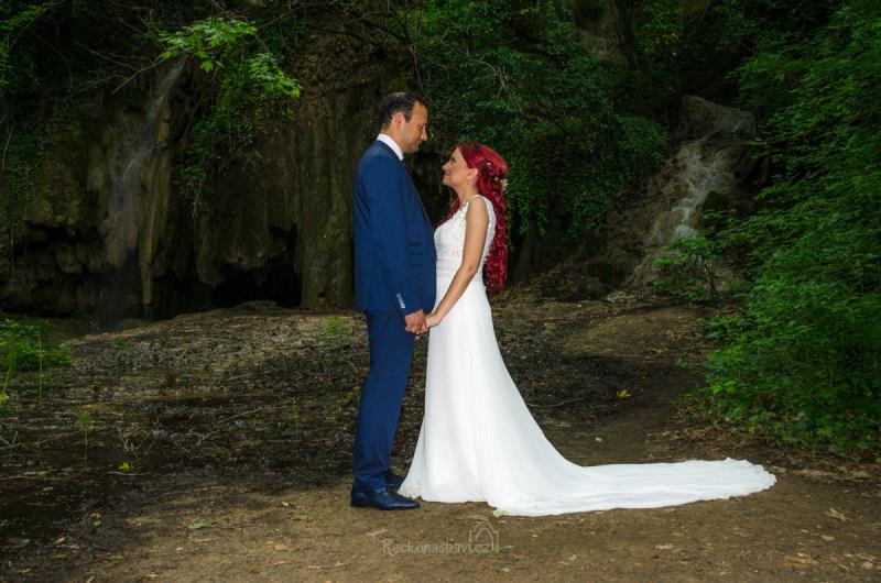 a třeba budete mít štěstí jako my na pár novomanželů :)